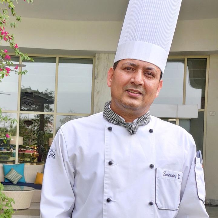 Pastry Chef Surendra Negi