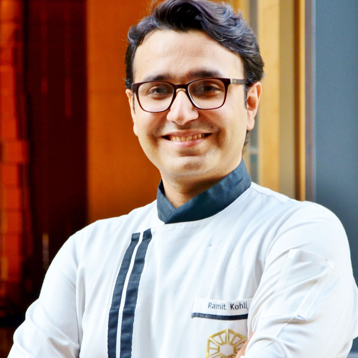 Executive Sous Chef Ramit Kohli