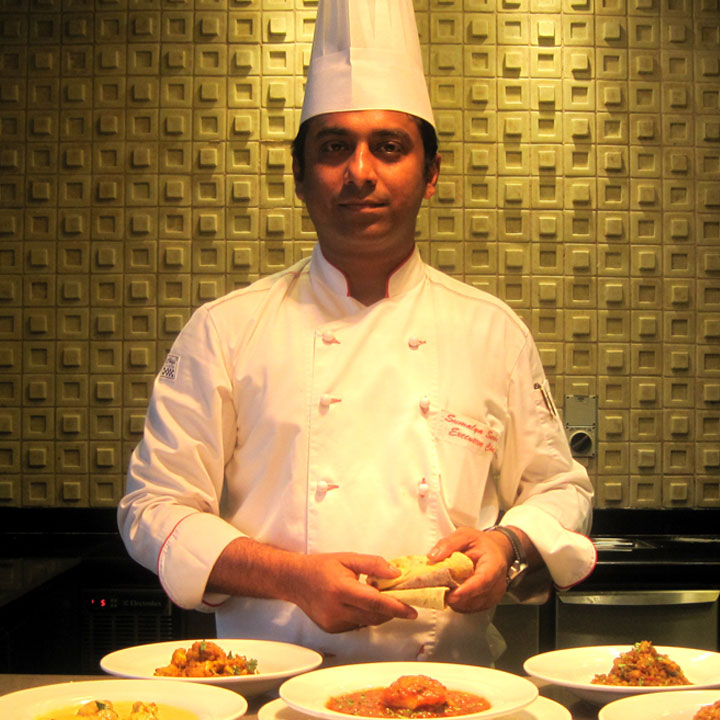 Executive Chef Sumalya Sarkar