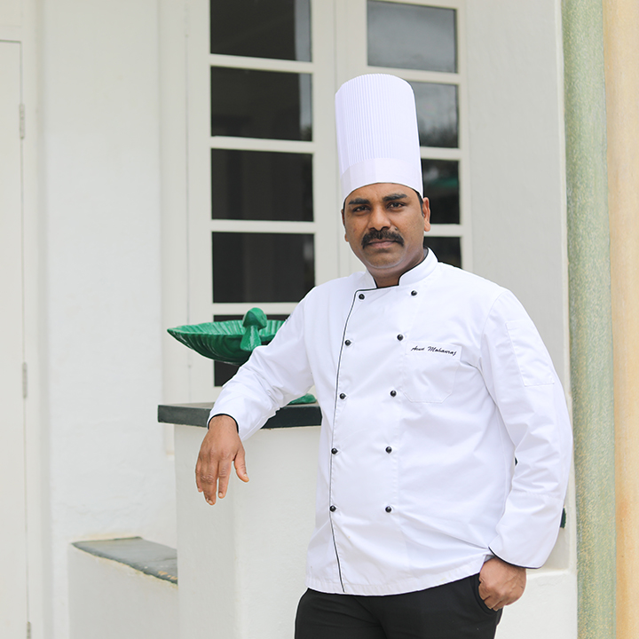Executive Chef Arun Mohanraj
