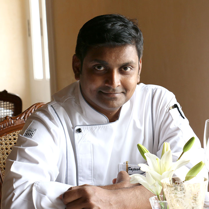 Executive Chef Sajesh Nair