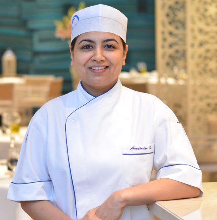 Chef de Cuisine Amninder Sandhu