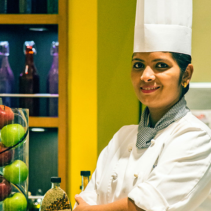 Executive Sous Chef Shrutika Koli