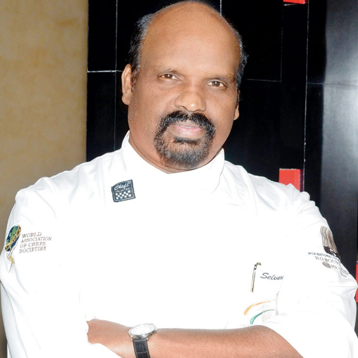 Executive Chef  Selvaraju Ramasamy