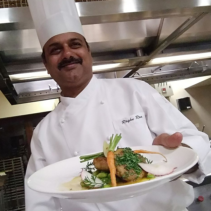 Executive Sous Chef Raghuram Reddy