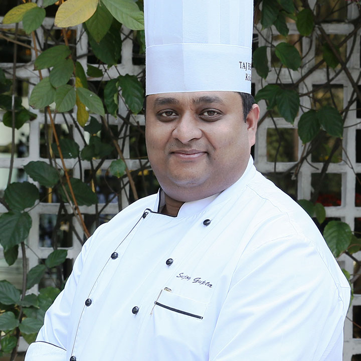 Executive Chef Sujoy Gupta