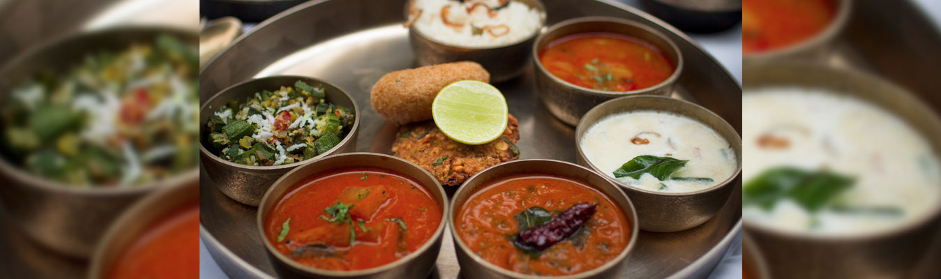 The Extravagant Konkan Thali at a special rate at The Konkan Café