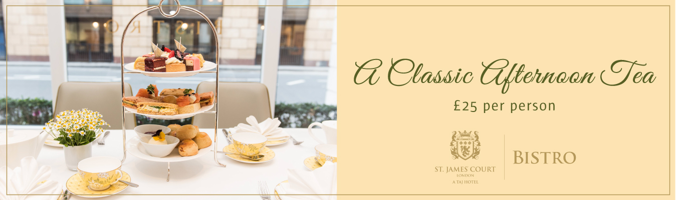 A Classic Afternoon Tea at Bistro