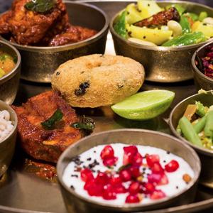 Coastal Konkan Thali at The Konkan Café