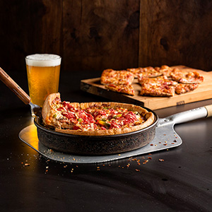 Pizza Beer at Dew