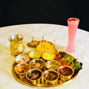 Mini Thali at Suvarna Mahal
