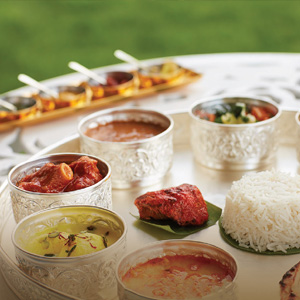 Royal Rajasthani Thali at Cinnamon