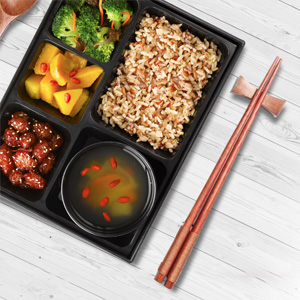 Enjoy Exotic Indian or Chinese Bento Meal  at Citrine