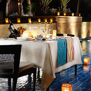 Barefoot Dining at Celsius