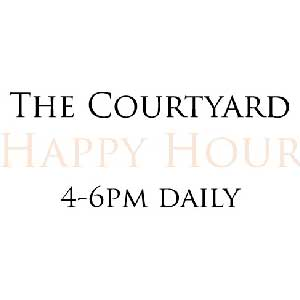 Courtyard Happy Hour at St. James Courtyard