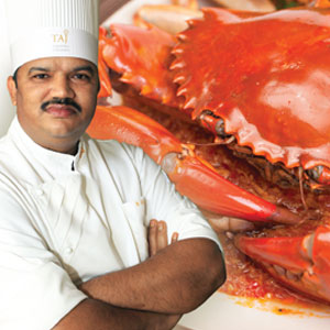 'Maestro' Chef Chauhan's Crab Fiesta at Navratna