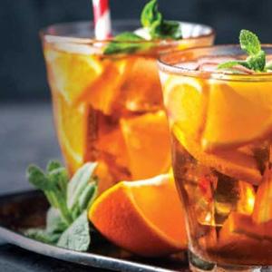 New Iced Tea Menu at Byzantium Lounge