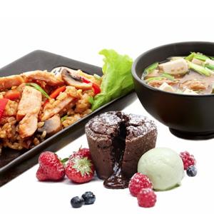 The Oriental Menu at Soi & Sake