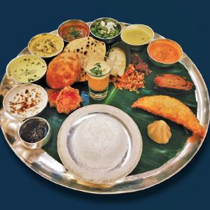 Chaturthi Thali at Café Azul