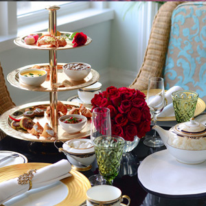 High Tea with Boat Cruise at Sunset Terrace