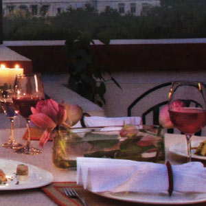 Dinning Under The Stars at Sunset Terrace