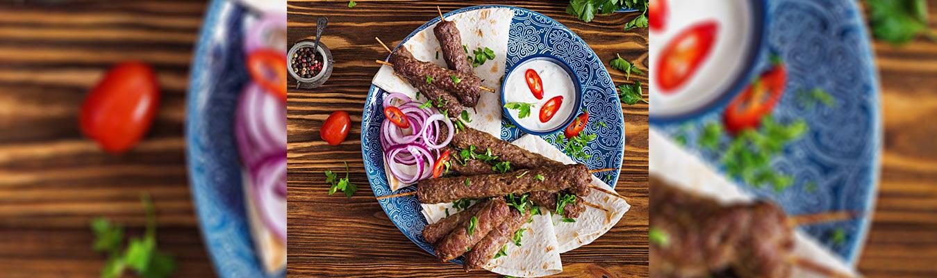 Turkish Style Adana Kebab (Ground Lamb Kebab)