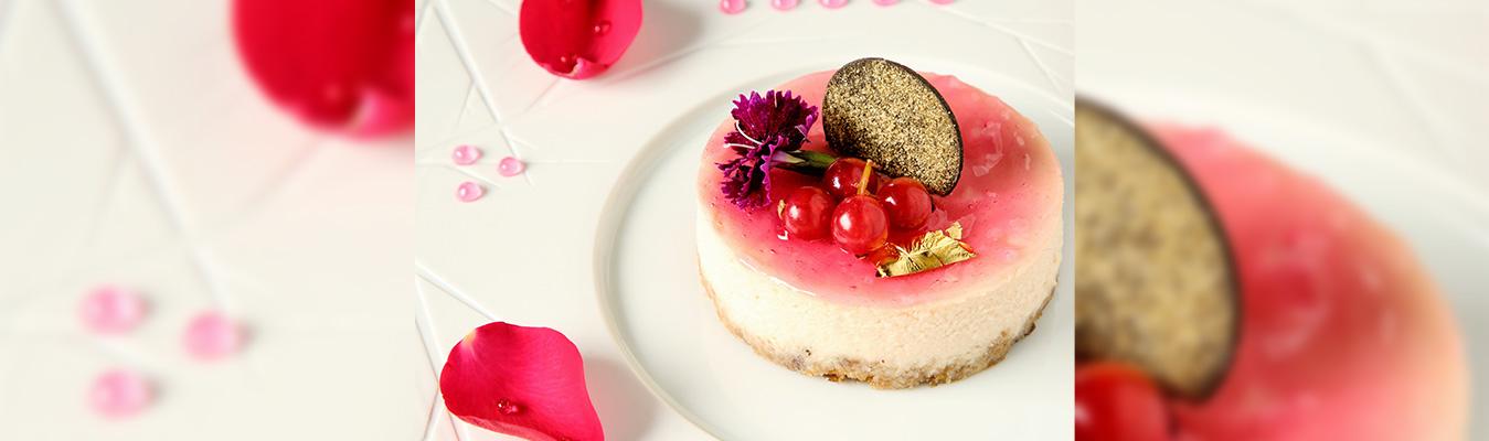 Rose Cheesecake