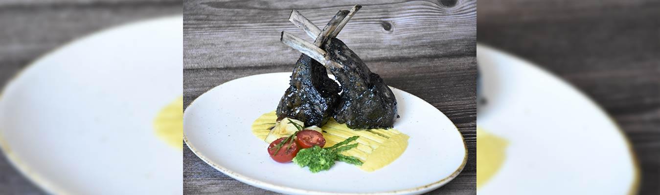 Charcoal Grilled Lamb Chops