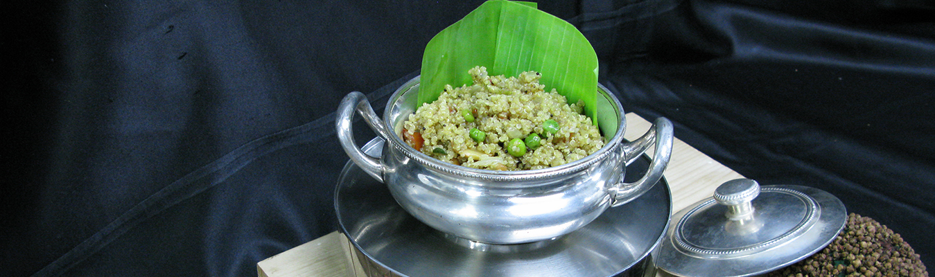 Quinoa and Green Peas Upma