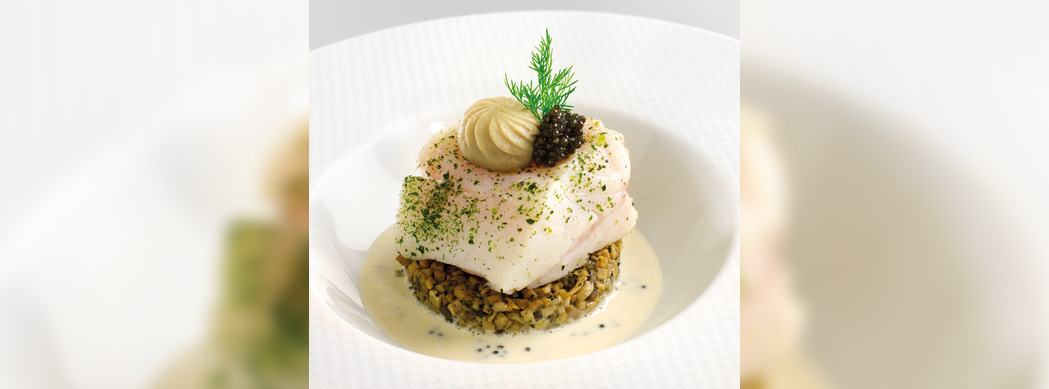 Poached Sea-bass