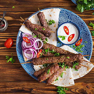 Turkish Style Adana Kebab (Ground Lamb Kebab)