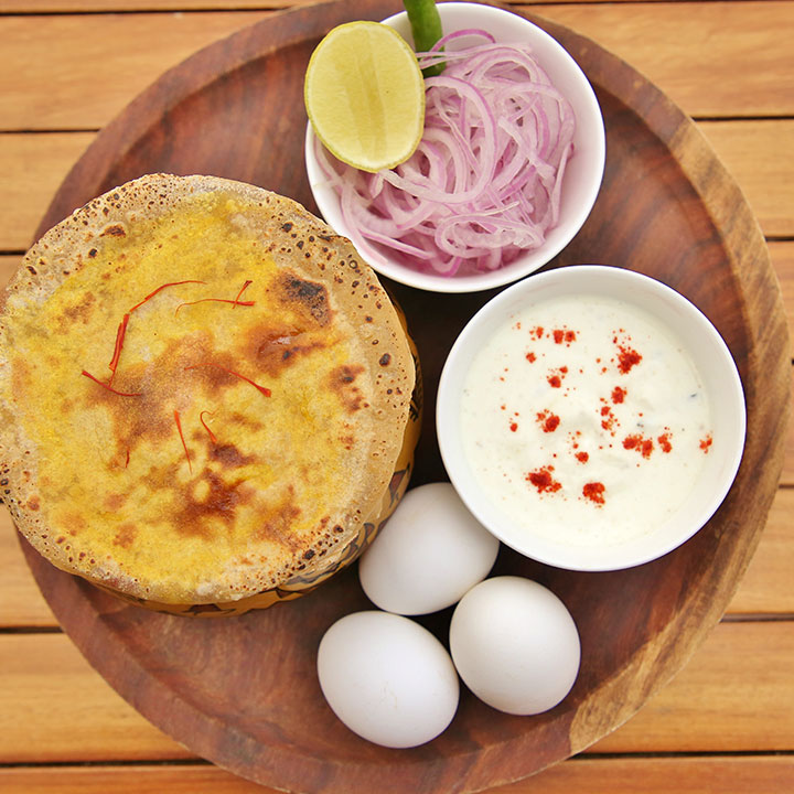 Tandoori Egg Biryani
