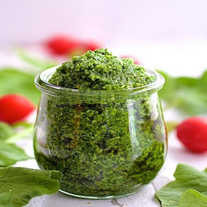 Radish Leaves Dip