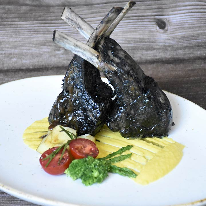 Charcoal Grilled Lamb Chops