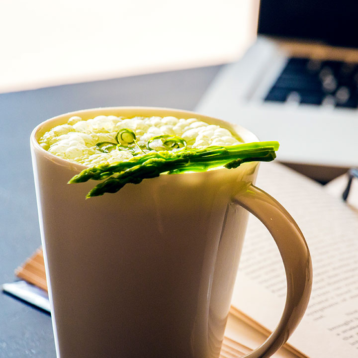 Asparagus Cappuccino