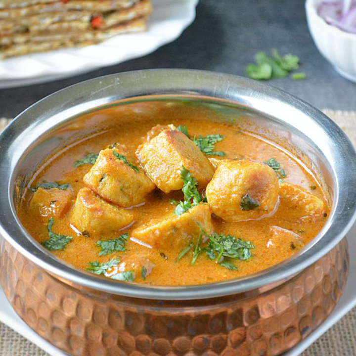 Jodhpuri Gatta curry