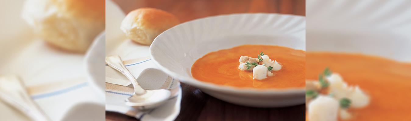 Soups at Taj
