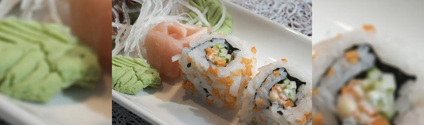 Sushi & Dim Sums At Taj