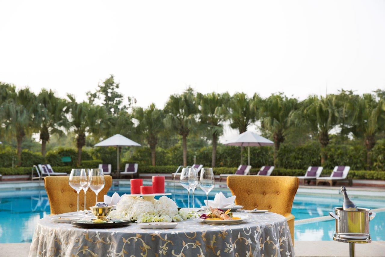 Dinette Dining - Poolside ,Taj Palace, New Delhi