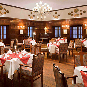 Dining Hall,Savoy, Ooty