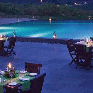 Poolside Grill,Taj Madikeri Resort & Spa, Coorg