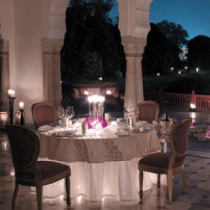Unique Romantic Dining at Baradari